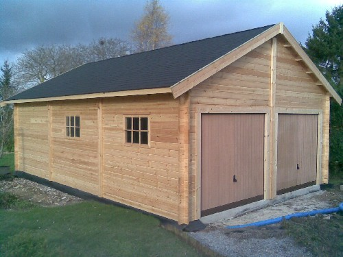 Construction en bois massif - Tarif construction garage ...