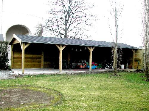 Carport Terrasse Couverte : carport et ou terrasse couverte prix partir de 8 683 00 tvac de dtails