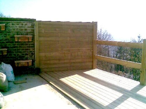 Terrasse Suspendue Beton : [Construction en bois massif]